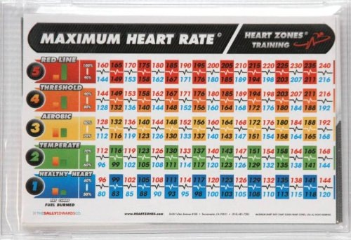 Heart Zones Sub Max Testing 10 Card Packet