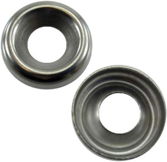 # 10 Stainless Steel Countersunk Finishing Washers (Kasten von 100)