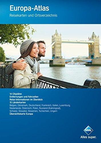 Aral Europa-Atlas: Reisekarten und Ortsverzeichnis, mit Cityplänen (Aral Touristikprogramm) Broschüre – 5. August 2014 Busche 3897643758 Karten / Stadtpläne / Europa Belgien