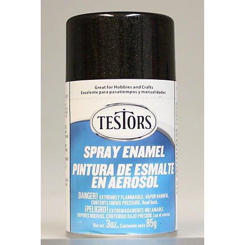 Spray 90ml Black Metallic Enamel   B00681T1ZK