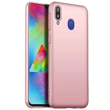 WYRMS Compatible con Samsung Galaxy A20/A30 Funda PC de Silicona,Ultra Delgado Parachoques Carcasa de Telefono a Prueba de Golpes Resistente a Los ...