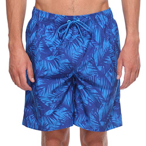f38e19c2fb ELETOP Mens Swim Trunks Quick Dry Board Shorts Above Knee with Meshlining  Drawstring and Pockets Swim ...