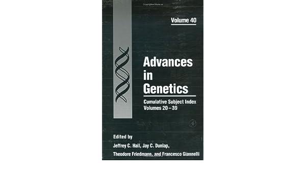 Cumulative Subject Index Volumes 20–39
