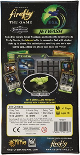 Firefly: Jetwash Expansion Board Game