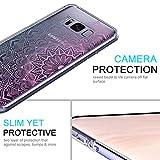 MOSNOVO Galaxy S8 Case, Galaxy S8 Clear