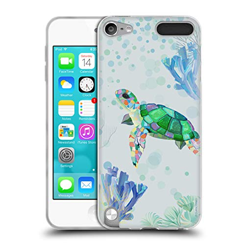 Official Turnowsky Turtle Animals 2 Soft Gel Case for Apple iPod Touch 5G 5th Gen ()