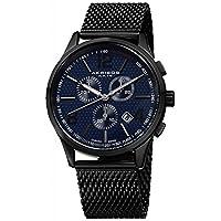 Akribos XXIV, el último reloj de acero inoxidable AK719BU para hombres