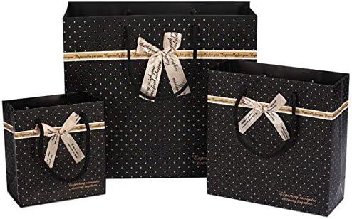 Amazon.com: Bolsa de regalo de puntos negros de Chitop ...