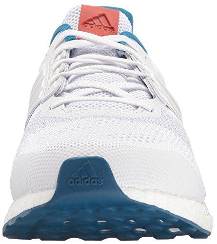 adidas Performance Herren Ultra Boost Street Laufschuh Weiß / Weiß / Craft Chili Stoff