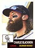 #6: 2018 Topps Living Set #31 Charlie Blackmon Baseball Card Colorado Rockies - Only 6,585 made!