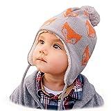 Jan & Jul Warm Toddler Kids Adult Fall Winter Beanie Matching Twinning Hats