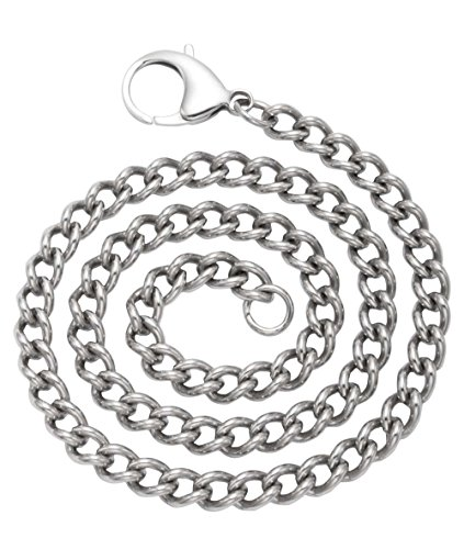 Stainless Steel Twisted Cable Chain 8x12mm Links (10 Inches)