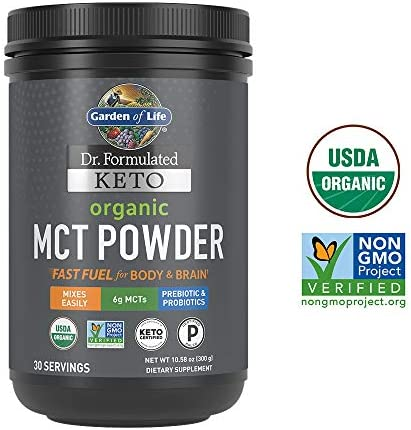 Garden Life Formulated Organic Powder product image