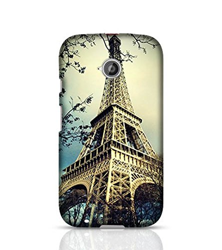 the latest c64d7 39b4b Covers Online for Moto E 2nd Gen Eiffel Tower In Paris: Amazon.in ...