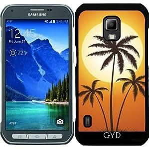 Funda para Samsung Galaxy S5 Active - Palmeras Del Sol by hera56