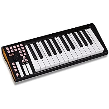 icon ikeyboard 3 25 key midi controller incl cubase le musical instruments. Black Bedroom Furniture Sets. Home Design Ideas