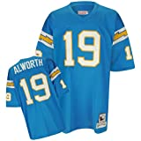 San Diego Chargers Mitchell & Ness 1963 Lance Alworth #19 Replica Throwback Jersey (L)