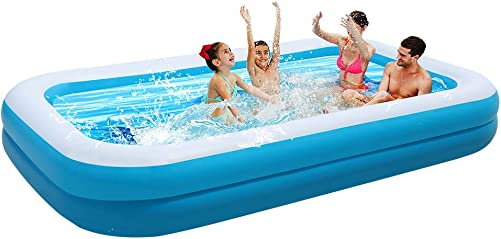 Best portable pool: OTLIVE Large Family Inflatable Swimming Pool