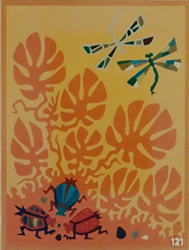 """""""DRAGONFLIES,""""Spanish""""Encanto""""Tapestry PUZZLE,15.5'' X 20.5""""Original Mid-Century Modern, c.1965,100% Virgin Wool Felt,Mint Condition.Do-It-Yourself complete Puzzle kit:more fun, save money! by Encanto Tapestries"""