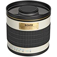 Bower High-Power 500mm f/6.3 Telephoto Mirror Lens (SLY50063)