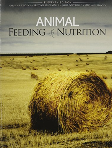 Animal Feeding and Nutrition -  JURGENS, MARSHALL H, 11th Edition, Paperback