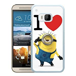 Fashionable and Durable Case Despicable Me 8 HTC ONE M9 Case in White
