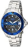 Invicta Women's 'Pro Diver' Automatic Stainless Steel Diving Watch, Color:Silver-Toned (Model: 23151)