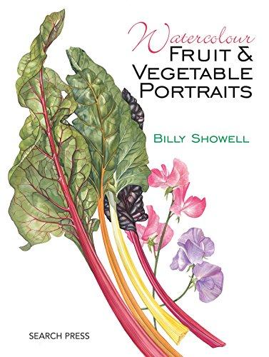 Watercolour Fruit & Vegetable Portraits (Vegetable Portraits)