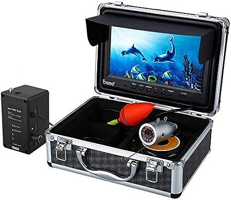 """Eyoyo 4.3 /""""20M Fish Finder 110 ° Weitwinkel 8er IR LED Unterwasserfischerkamera"""