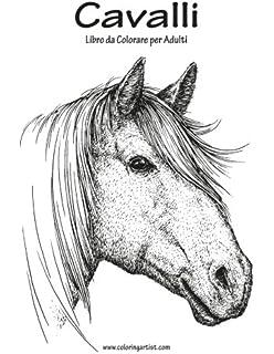 Cavalli Da Colorare 35 Disegni Realistici Di Colorare I Cavalli
