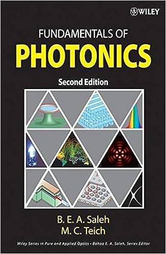 Fundamentals of photonics bahaa e a saleh malvin carl teich fundamentals of photonics bahaa e a saleh malvin carl teich 9780471358329 amazon books fandeluxe Gallery