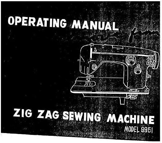 Descargar Pdf-File Singer W9951 Máquina de coser: Amazon.es: Hogar