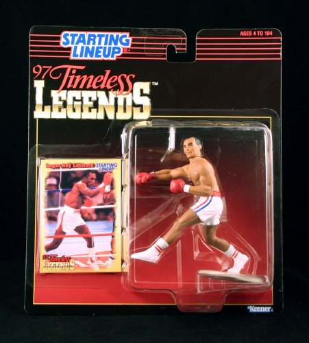 - SUGAR RAY LEONARD / BOXING 1997 Timeless Legends Kenner Starting Lineup & Exclusive Collector Trading Card