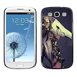 Exotic-Star ( Woman Fashion Haut Couture ) Fundas Cover Cubre Hard Case Cover para SAMSUNG Galaxy S3 III / i9300 / i747
