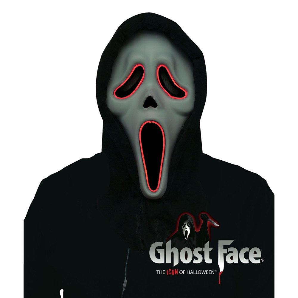 Amazon com: Fun World Adult Scream Illumo Ghostface Costume