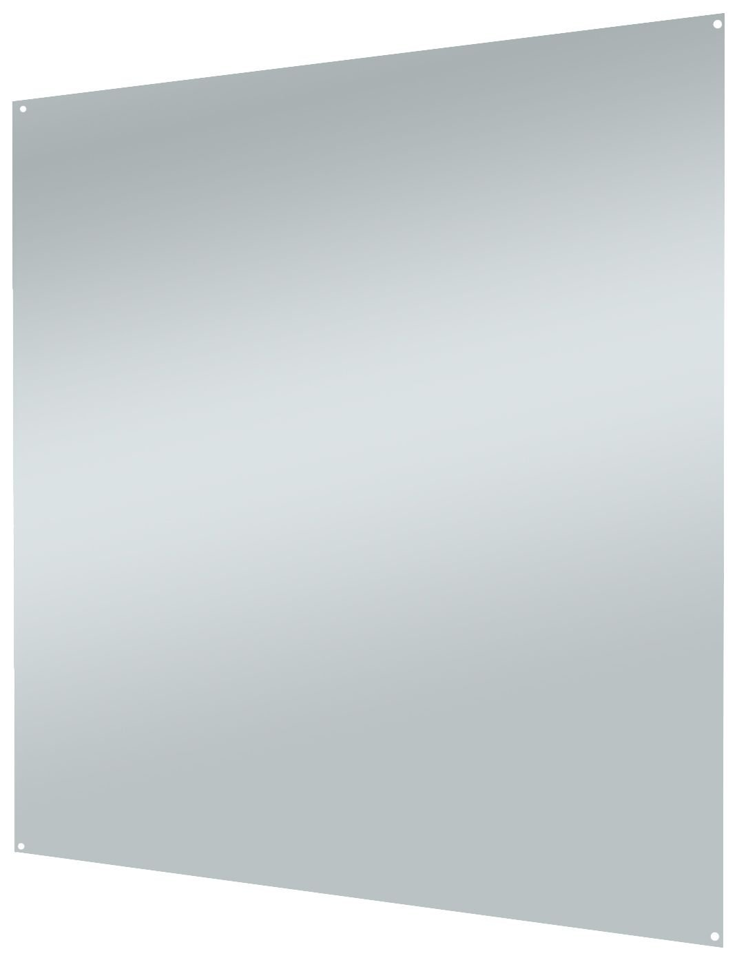 Air King SP2424S Range Hood Back Splash, 24-Inch by 24-Inch, Stainless Steel Finish