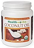 Healthworks Coconut Oil Organic Extra Virgin Cold-Pressed, 16oz - 518M2M2fMxL - Healthworks Coconut Oil Organic Extra Virgin Cold-Pressed, 16oz