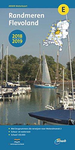 Wasserkarte E Randmeren, Flevoland 1:50 000 (ANWB waterkaart (E))