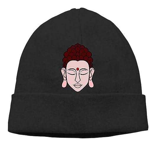 Buddha Beanie Hat Hipster Toboggan Hat Winter Hats Knit Hat Beanies for Men  and Women f84f81da40e5