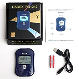 RADEX RD1212 Advanced Radiation Detector / Geiger Counter with Online Software