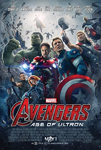AVENGERS AGE OF ULTRON MOVIE POSTER 2 Sided ORIGINAL FINAL 2