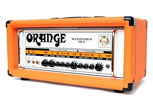 Orange Amplifiers Rockerverb 50 MK II 50W Tube Guitar Amp Head Orange