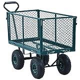 Unfade Memory Garden Wagon Hand Trolley Portable