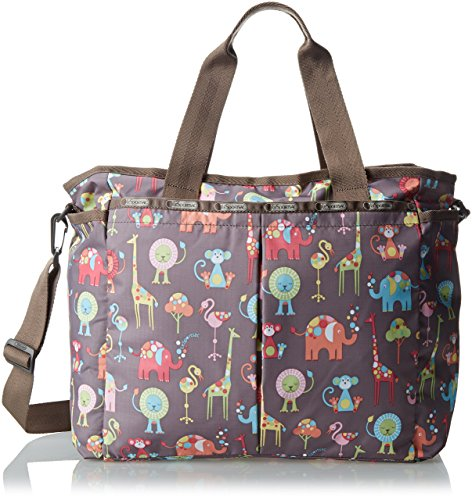 LeSportsac Ryan Baby Diaper Bag,Zoo Buddies,One Size