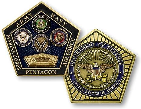 55971e312eb8f2 Amazon.com: Pentagon, Department of Defense Coin: Toys & Games