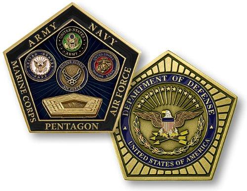 Pentagon Department of Defense Coin