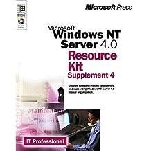 Microsoft Windows NT Server 4.0 Resource Kit Supplement 4