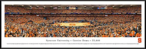 Syracuse University Basketball   Blakeway Panoramas College Sports Posters With Standard Frame