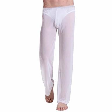 EFE Homme Pantalon Transparent Lingerie Vêtement de Sport Yoga OU Bas de  Pyjamas  Amazon.fr  Vêtements et accessoires caf3fe37236