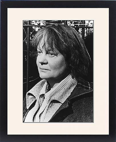Framed Print of Iris Murdoch, British novelist and philosopher by Prints Prints Prints